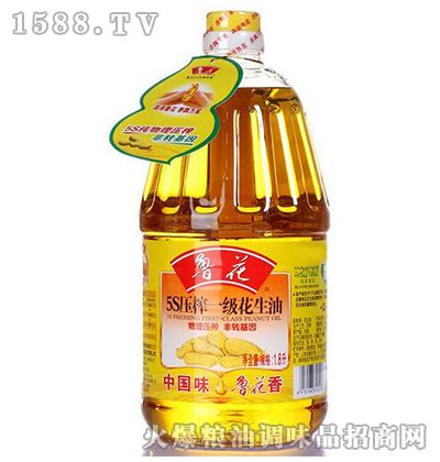 一级花生油1.8L-鲁花
