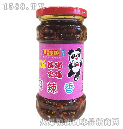 麻辣香268克-顶香家族