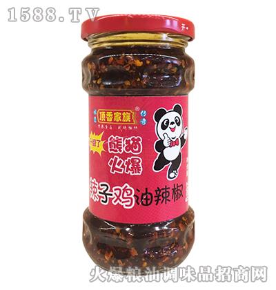 辣子鸡油辣椒268g-顶香家族
