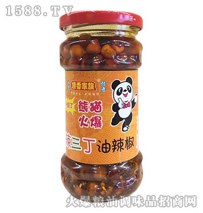 辣三丁油辣椒268g-顶香家族