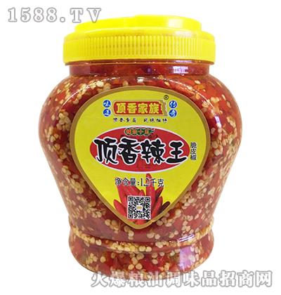 顶香辣王脆皮椒1.2千克-顶香家族