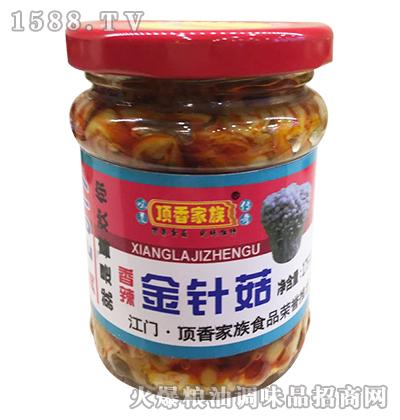 香辣金针菇175克-顶香家族