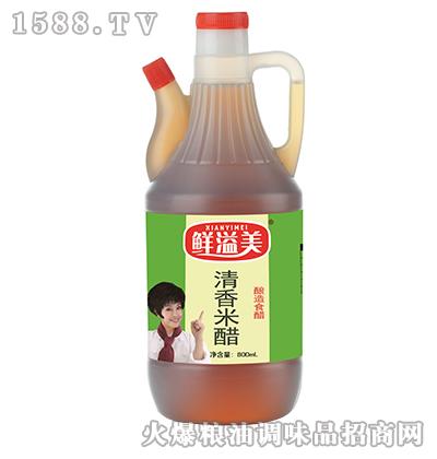 清香米醋壶装800ml-鲜溢美