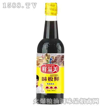 味极鲜特级酱油800ml-鲜溢美