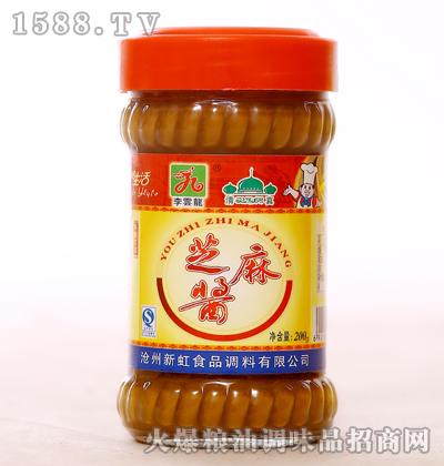 纯芝麻酱200g-李�龙
