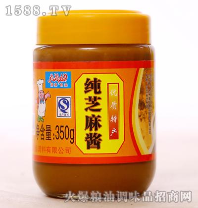 纯芝麻酱350g-新虹