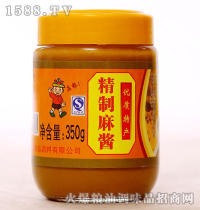 精制麻酱350g-新虹