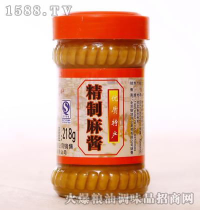 精制麻酱218g-新虹