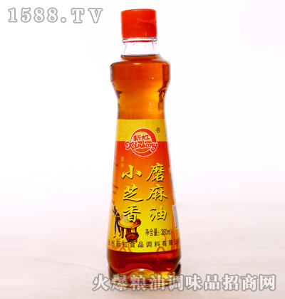 小磨芝麻香油360ml-新虹