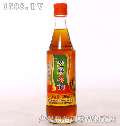 调和芝麻香油350ml-新虹