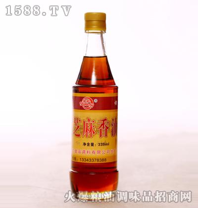 芝麻香油339ml-新虹