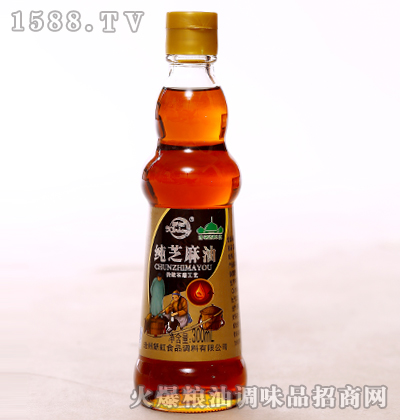 纯芝麻油300ml-新虹