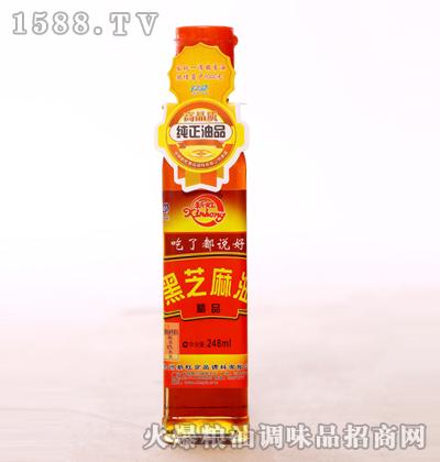 精品黑芝麻油248ml-新虹