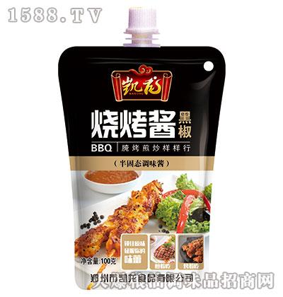 凯龙黑椒烧烤酱100g