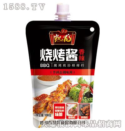 凯龙香辣烧烤酱100g