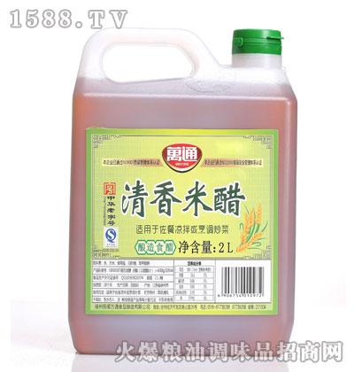 万通清香米醋2L