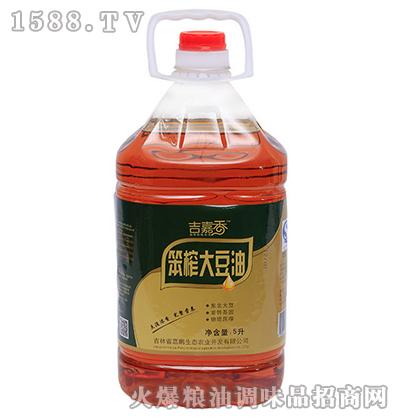 笨榨大豆油5L-吉嘉香