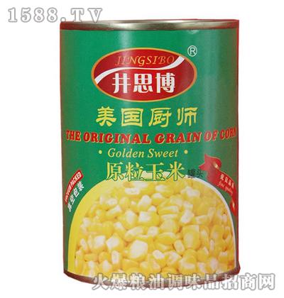 原粒玉米400g-井思博