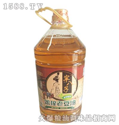 笨榨老豆油5L-芈八子
