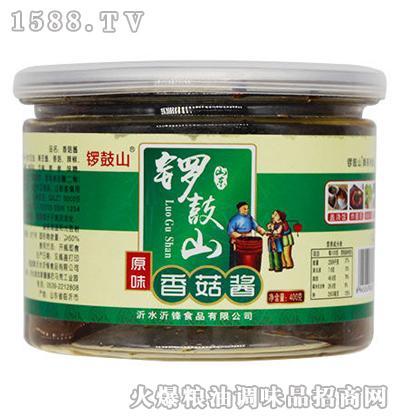 原味香菇酱400克-锣鼓山