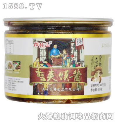 香菇夹馍酱400克-锣鼓山