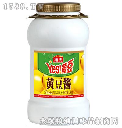 黄豆酱2kg-海天