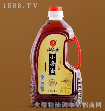 小磨香油3L-福家欢
