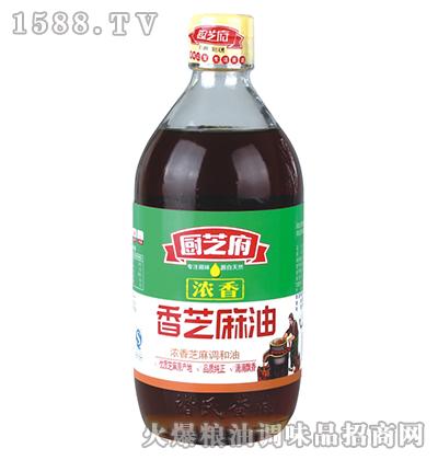 浓香芝麻油(大瓶)-厨芝府