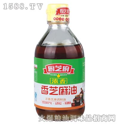 浓香芝麻油(小瓶)-厨芝府