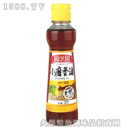 小磨香油225ml-厨芝府