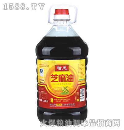 芝麻油4.5kg(桶装)-褚氏