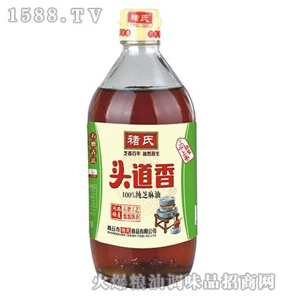 头道香纯芝麻油(大瓶)-褚氏