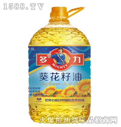 葵花籽油5L-多利
