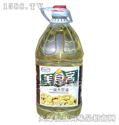 一级大豆油5L-美食客
