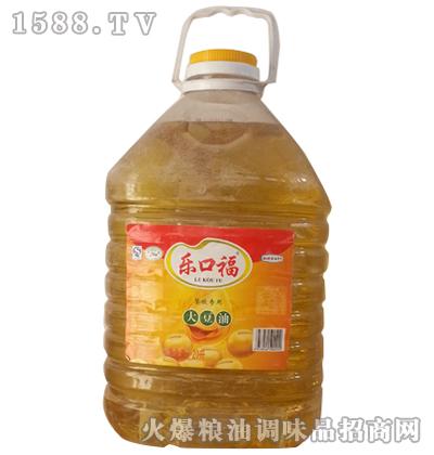 一级大豆油20L-乐口福