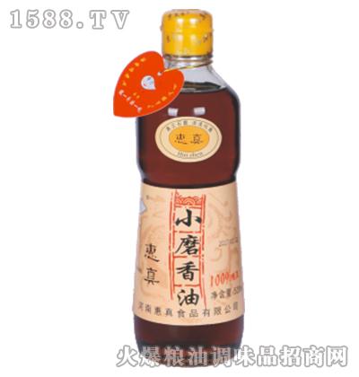 惠真小磨香油瓶装520ml
