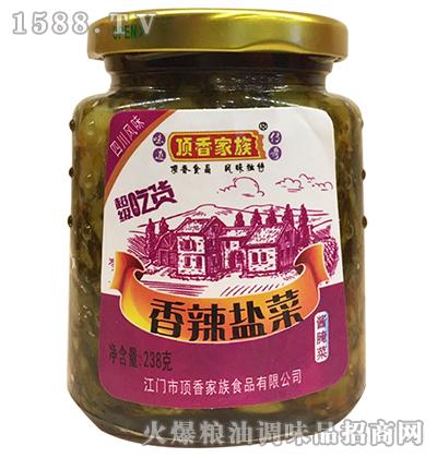 香辣盐菜238克-顶香家族