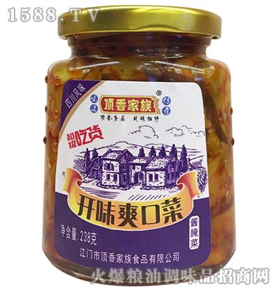 开味爽口菜238克-顶香家族