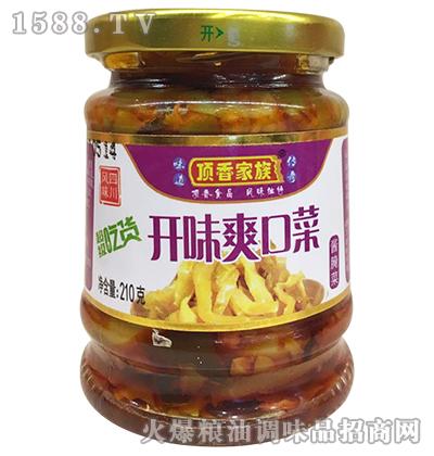 开味爽口菜210克-顶香家族