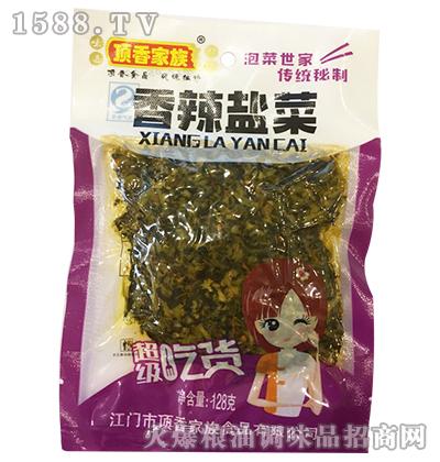 香辣盐菜128克-顶香家族