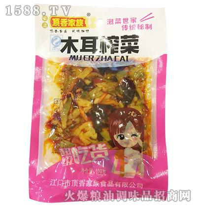 木耳榨菜128克-顶香家族