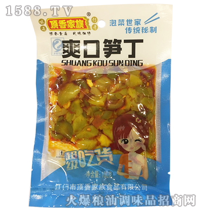 爽口笋丁100克-顶香家族