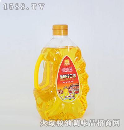 压榨花生油2.5L-佳乐福