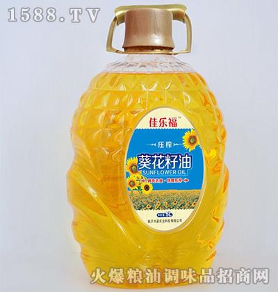 葵花籽油5L-佳乐福