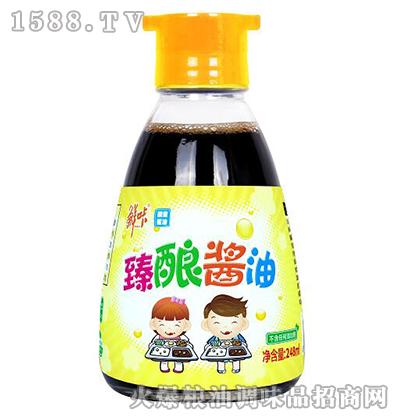 臻酿酱油248ml-鲜咔