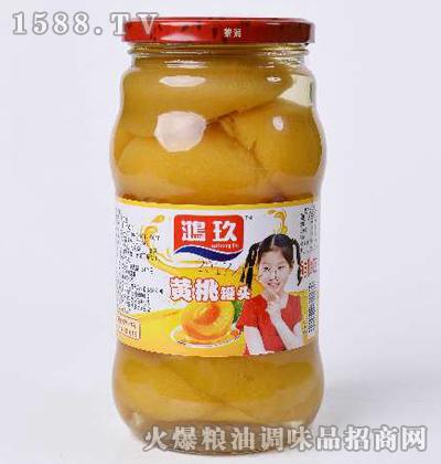 黄桃罐头-鸿玖