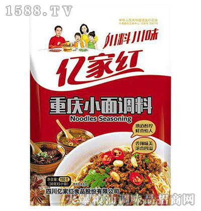 重庆小面调料150g-亿家红