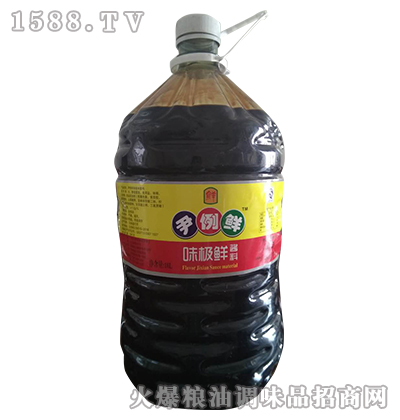 味极鲜酱料15L-尹例鲜