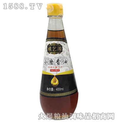 祖艺源小磨香油400ml-祖艺源