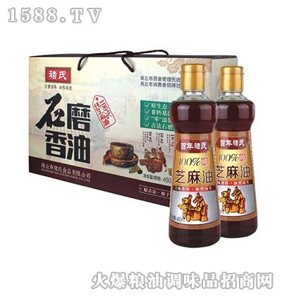 褚氏-石磨香油礼盒